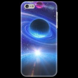 """Чехол для iPhone 5 """"Космос"""" - космос, наука, прогресс, денис гесс, the spaceway"""