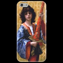 """Чехол для iPhone 5 """"Паж (картина Кабанеля)"""" - картина, кабанель"""