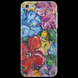 """Чехол для iPhone 5 """"Настроение"""" - любовь, в подарок, красота, цветочки, чехол с цветами"""
