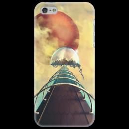 """Чехол для iPhone 5 """"Art """"Мост в Большой купол"""""""" - арт, рисунок, оригинально, креативно"""