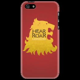 """Чехол для iPhone 5 """"Game of Thrones"""" - драма, игра престолов, game of thrones, house of lannister, ланнистер"""