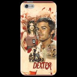 """Чехол для iPhone 5 """"Dexter"""" - арт, dexter, декстер, в подарок, оригинально, девушке, парню"""