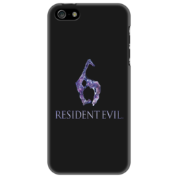 "Чехол для iPhone 5 ""Resident Evil 6"" - игра, обитель зла, resident evil, umbrella, re"