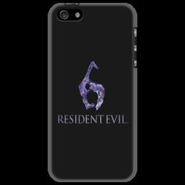 "Чехол для iPhone 5 ""Resident Evil 6"" - игра, обитель зла, resident evil, umbrella, re"
