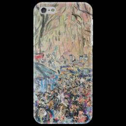 "Чехол для iPhone 5 ""Рамбла"" - барселона, испания, центр, бульвар, рамбла"