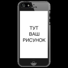 """Чехол для iPhone 5 """"Двусторонний iPhone 5"""" - прикольные, юмор, прикол"""