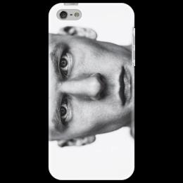 """Чехол для iPhone 5 """"Джесси Айзенберг"""" - глаза, фото, черно-белое, айзенберг, иллюзияобмана"""