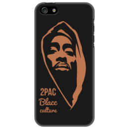 "Чехол для iPhone 5 ""2pac"" - rap, hip-hop, 2pac, tupac shakur, тупак шакур"