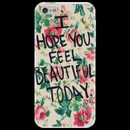 "Чехол для iPhone 5 ""TODAY"" - арт, цветы, beautiful"