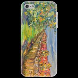 """Чехол для iPhone 5 """"Питер"""" - питер, город, осень, деревья, листопад"""