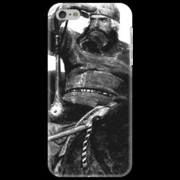 """Чехол для iPhone 5 """"Богатырь"""" - герои, россия, русь, мужчинам, богатыри"""