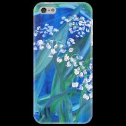 "Чехол для iPhone 5 ""Сказка"" - весна, лес, красота, май, ландыши"