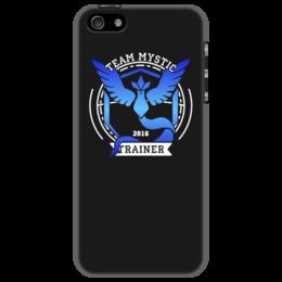 """Чехол для iPhone 5 """"Покемоны. Team Mystic"""" - прикольные, покемон, покемоны, pokemon go, team mystic"""