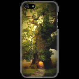 """Чехол для iPhone 5 """"La luce dentro di voi... """" - в подарок, оригинально, философия, оригинальный подарок, чехол для iphone 5"""