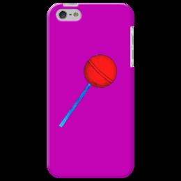 """Чехол для iPhone 5 """"Сладкая жизнь"""" - вкусняшка, конфета, сладости, леденец, карамель"""