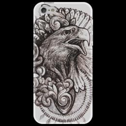 "Чехол для iPhone 5 ""MaEagle"" - авторский, орёл, eagle, эксклюзивный"