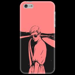 """Чехол для iPhone 5 """"pink style"""" - girl"""