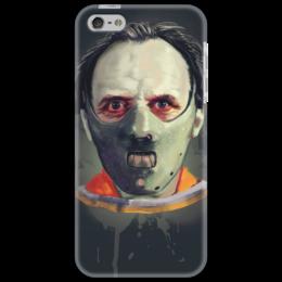 """Чехол для iPhone 5 """"Ганнибал Лектор"""" - доктор, маска, тюрьма, молчаниеягнят, лектор"""