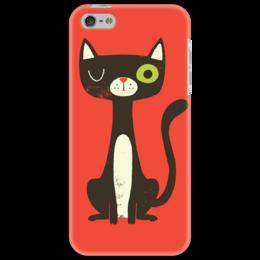 """Чехол для iPhone 5 """"Котейка"""" - кот, животны"""