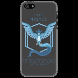 "Чехол для iPhone 5 ""Team Mystic"" - мультфильм, pokemon, покемон, мистик, mystic"