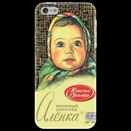 """Чехол для iPhone 5 """"Шоколад"""" - прикольно, смешные, популярные, оригинально, выделись из толпы, шоколад, chocolate, аленка"""
