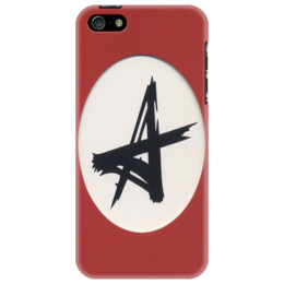 """Чехол для iPhone 5 """"Алиса"""" - rock, punk rock, кинчев"""