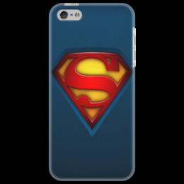 """Чехол для iPhone 5 """"Superman"""" - любовь, прикольно, прикол, арт, девушка, юмор, смешные, приколы, смешное, авторские майки"""