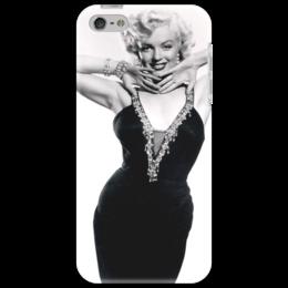 """Чехол для iPhone 5 """"Мэрилин Монро"""" - певица, блондинка, монро, актриса, мэрилин монро"""