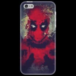 "Чехол для iPhone 5 ""Deadpool iPhone"" - парню, креативно"