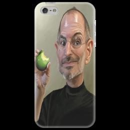 """Чехол для iPhone 5 """"Steve Jobs"""" - популярные, оригинально, выделись из толпы"""