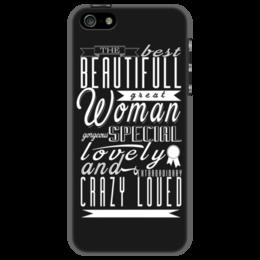 """Чехол для iPhone 5 """"Необычный подарок Любимой! """" - любовь, девушка, женская, в подарок, оригинально, девушке, креативно"""