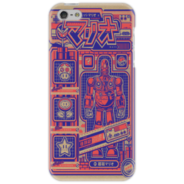"Чехол для iPhone 5 ""Japanese Robot"" - robot, japan"
