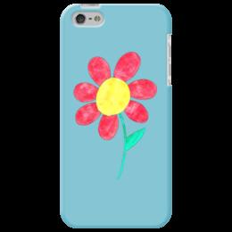 "Чехол для iPhone 5 ""Flowers"" - цветок, цветы, рисунок, символ, картинки"