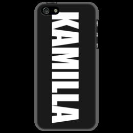 """Чехол для iPhone 5 """"с именем Камилла"""" - чехол с именем, чехол с именем камилла"""