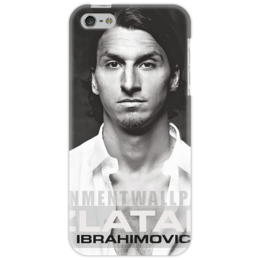 "Чехол для iPhone 5 ""Златан Ибрагимович"" - футбол, псж, ибрагимович, zlatan ibrahimovic, paris saint-germain"
