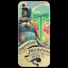 """Чехол для iPhone 5 """"Torpedo Moscow"""" - оригинально"""