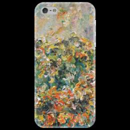 """Чехол для iPhone 5 """"Подсолнухи"""" - любовь, танец, цветы, flowers, живопись, подсолнух"""