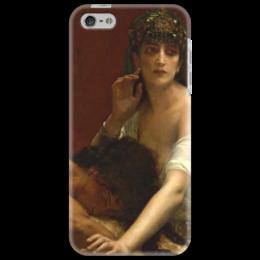 """Чехол для iPhone 5 """"Самсон и Далила (картина Кабанеля)"""" - картина, кабанель"""