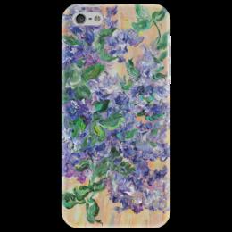 """Чехол для iPhone 5 """"Сирень"""" - весна, цветочки, сирень, красотища, аромат"""