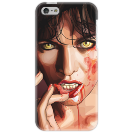 "Чехол для iPhone 5 ""zombie girl "" - девушка, зомби, girl"
