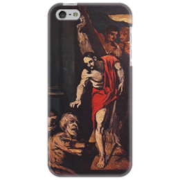 "Чехол для iPhone 5 ""Christ in Limbo"" - картина, сезанн"