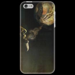 """Чехол для iPhone 5 """"Босх. I вариация."""" - арт, прикольные, в подарок, фотография, bosch"""