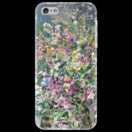 """Чехол для iPhone 5 """"Цветочное облако"""" - аромат, нежно, цветочки, ярко, цветочное облако"""