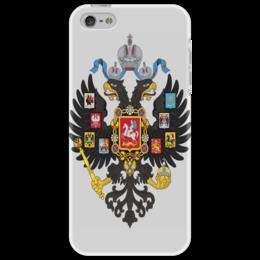 """Чехол для iPhone 5 """"Имперский герб"""" - герб, империя, российская империя, имперский герб"""