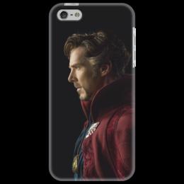 """Чехол для iPhone 5 """"Доктор Стрэндж"""" - marvel, мстители, марвел, доктор стрэндж, doctor strange"""