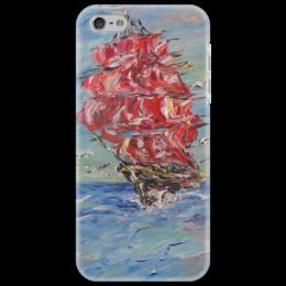 "Чехол для iPhone 5 ""Алые паруса"" - море, мечты, счастье, красота, надежда"