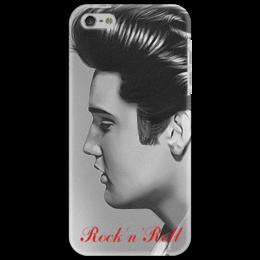 """Чехол для iPhone 5 """"Элвис Пресли"""" - выделись из толпы, elvis presley"""