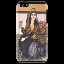 """Чехол для iPhone 5 """"Портрет сидящей женщины (картина Эривани)"""" - картина, эривани"""