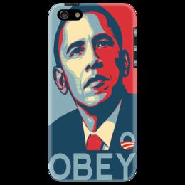"""Чехол для iPhone 5 """"Obey Obama"""" - obey"""
