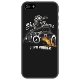"Чехол для iPhone 5 ""Shift Gears..."" - арт, shapdesign, hot rod"